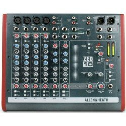 A&H ZED-1002 Mixer 4 Mic/Line inputs, 2 stereo m/USB