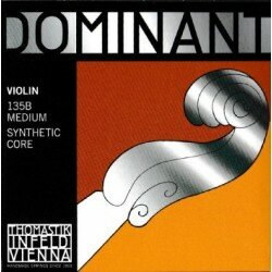 135B Dominant Violin Strings, Complete Set